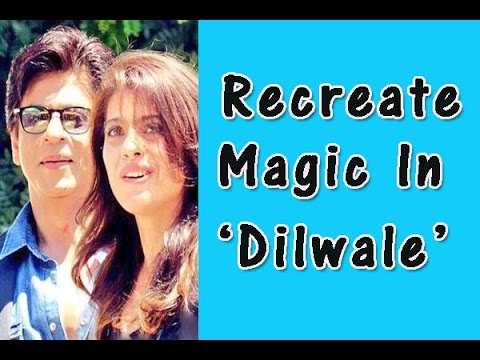 Dilwale will see Shah Rukh and Kajol create magic in Black and Red yet again
