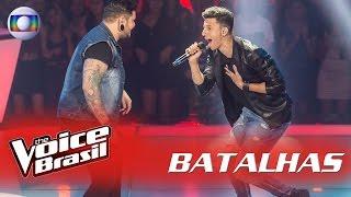 Rafah e Renan Zonta cantam 'Sweet Child O'Mine' nas Batalhas - 'The Voice Brasil' | 5ª Temporada