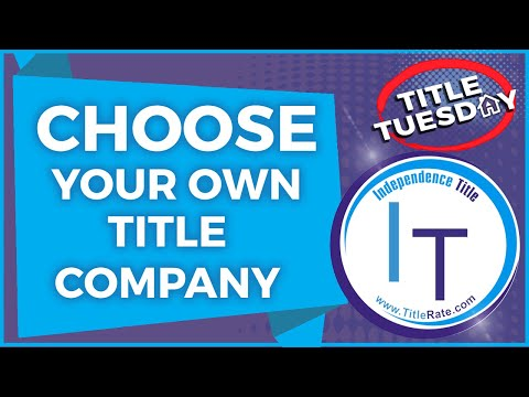 Episode 99 Why Choose YOUR Own Title Company on Florida Real Estate