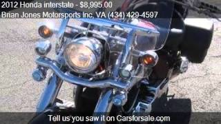 6. 2012 Honda interstate  for sale in Danville, VA 24541 at the