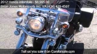 8. 2012 Honda interstate  for sale in Danville, VA 24541 at the