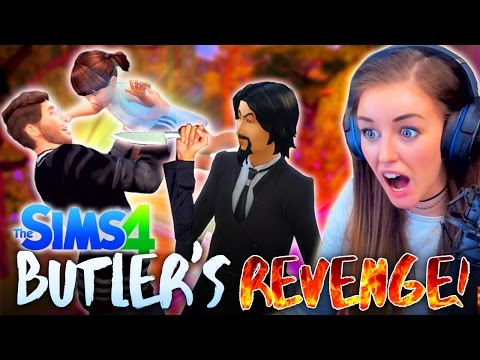 🔥JESSY GROWS UP + BUTLER COMES BACK FOR REVENGE!🔥 (The Sims 4 #17! 🏡)