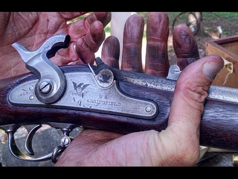 1863 Springfield Civil War Rifle   (Original)