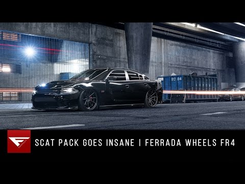 Scat Pack Goes Insane | Dodge Charger | Ferrada Wheels FR4