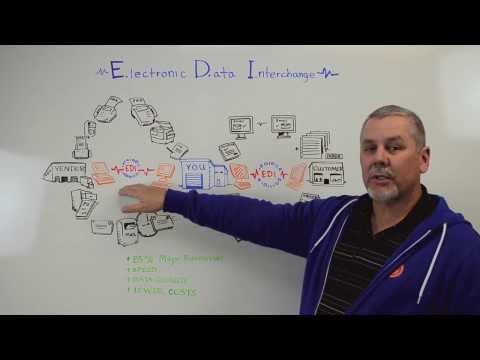 Electronic Data Interchange, EDI - Whiteboard Wednesday (видео)