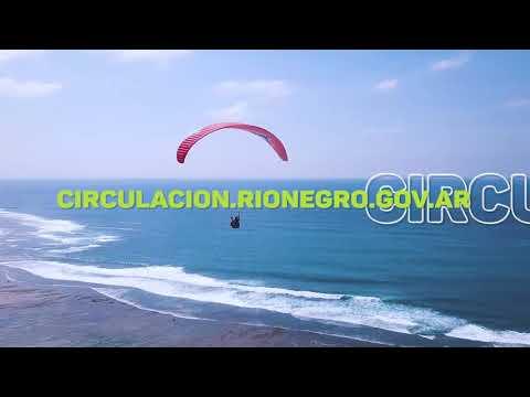 Permiso para turismo, en Río Negro Si!