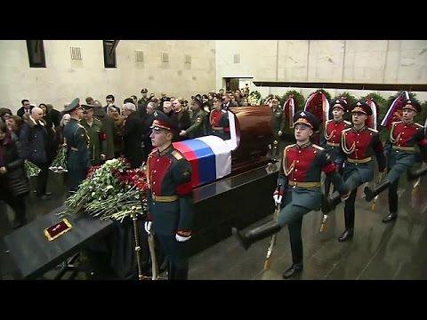 Κηδεύτηκε ο Ρώσος πρέσβης στον ΟΗΕ, Βιτάλι Τσούρκιν