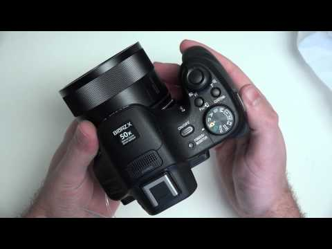 Sony Cyber-shot DSC-HX400V Unboxing in 4K
