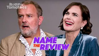 Hugh Bonneville & Elizabeth McGovern Play Name the Review