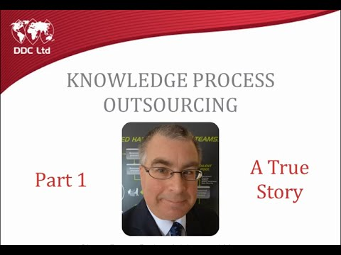 Knowledge Process Outsourcing for Upstream Oil and Gas sector.   Part 1