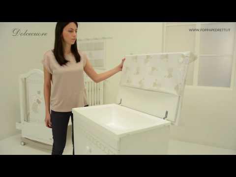 Foppapedretti: caratteristiche bagnetto/fasciatoio Dolcecuore