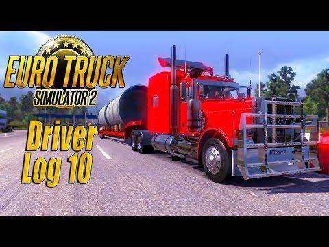 Euro Truck Simulator 2: Driver Log 10 - Peterbilt 389 Old School!