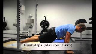 Exercise Index: Push-Ups (Narrow Grip)