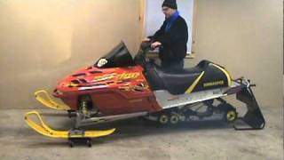 6. 2003 Ski Doo MXZ 600 ho Renegade for sale EBAY low miles
