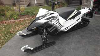 9. 2014 Arctic Cat M8000 LTD 153 w/Evolution Powersports