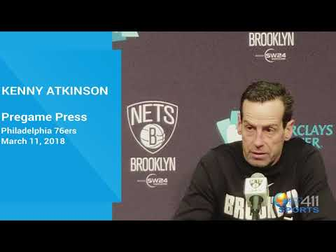 Brooklyn Nets coach Kenny Atkinson's Philadelphia 76ers Pregame Presser | What's The 411Sports | NBA