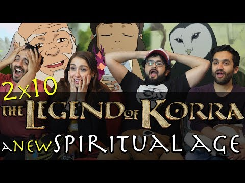 The Legend of Korra - 2x10 A New Spiritual Age - Group Reaction