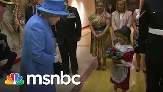 Video Girl Gives Queen Flowers, Gets Smacked | msnbc MP3, 3GP, MP4, WEBM, AVI, FLV November 2017
