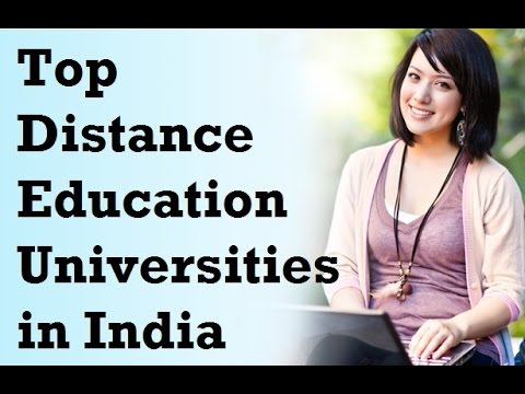 Distance Education Universities
