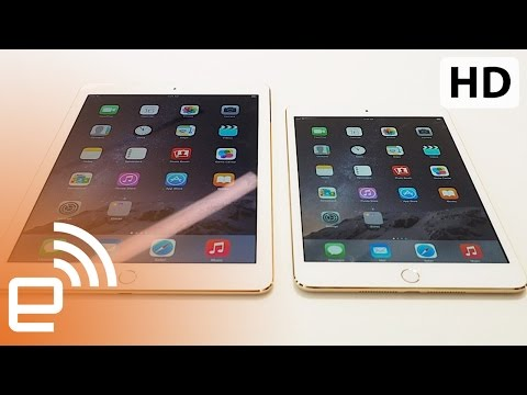 air - Engadget brings you first look at Apple's newly unveiled updates to its line of tablets. » Read more here: http://bit.ly/ipad-air-2-review » Subscribe to Engadget now! http://bit.ly/YA7pDV...