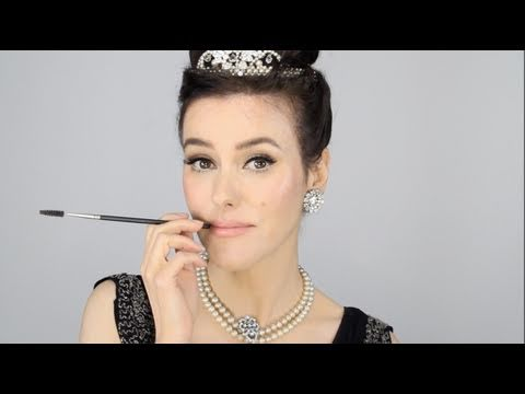 Audrey Hepburn - Breakfast at Tiffany's Inspired Makeup Tutorial