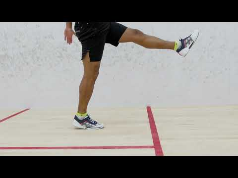 Squash tips: Adrian Grant on split step exercises