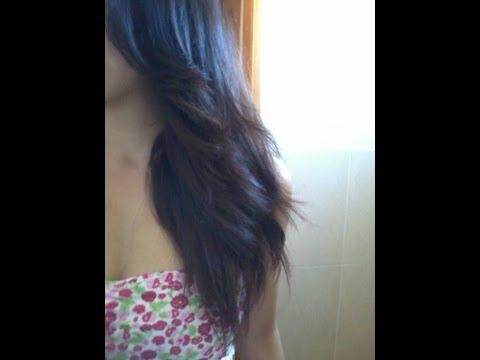 Como cortar tu cabello en capas. De vuelta a la escuela con nuevo look! (how to cut your hair)