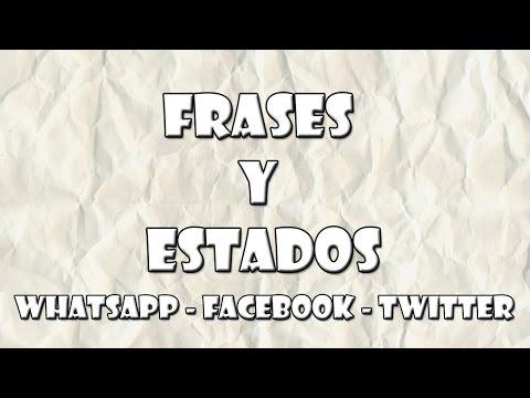 frases para facebook - Estados y Frases para WhatsApp - Facebook - Twitter - #07 - Variadas