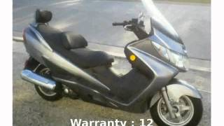 1. 2006 Suzuki Burgman 400 Specification, Features