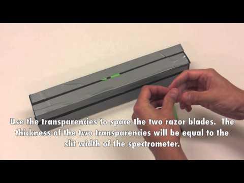 spectrometer - MIT 6.S079 Nanomaker, Spring 2013 View the complete course: http://ocw.mit.edu/6-S079S13 Instructors: Dr. Katey Lo, Dr. Joseph Summers, Prof. Vladimir Bulovi...