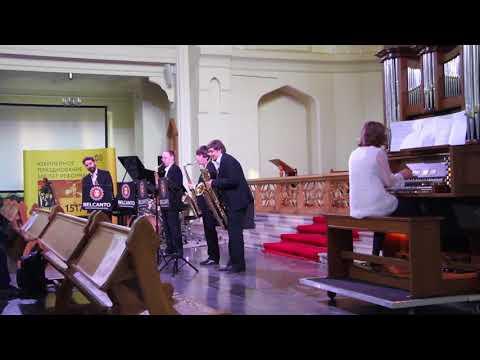 Voyage Sax Quartet: Chinese Umbrellas Ragtime