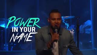 Todd Dulaney - Your Great Name (Lyric Video)