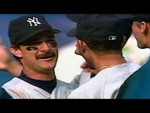 Yankees - 10/1/95: The Yankees clinch the first-ever AL Wild Card and return to the playoffs for the first time since 1981 Check out http://MLB.com/video for more! Abo...