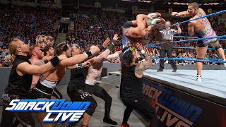 Nonton 12-Man Tag Team Match: SmackDown LIVE, Feb. 7, 2017 Film Subtitle Indonesia Streaming Movie Download