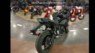 10. 2019 Kawasaki Ninja® 650 ABS Metallic Spark Black