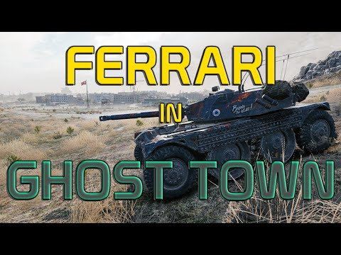 [LIVE on twitch] First Ferrari in GHOST TOWN (Live EBR 105 Gameplay)