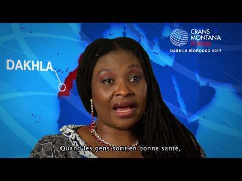 Vidéo - L'interview d'Yvonne Chaka Chaka lors du Crans Montana Forum de Dakhla 2017