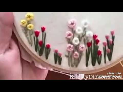 Hand embroidery.