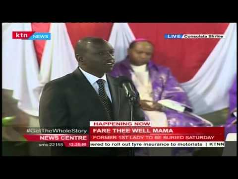 Deputy President, Ruto terms Mama Lucy as an extra ordinary woman of substance