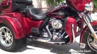 6. Used 2012 Harley Davidson Tri Glide Ultra Classic Trike for sale