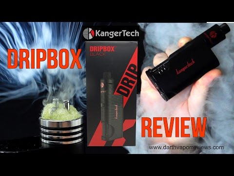 Kangertech: Dripbox 60w Squonk Mod Starter Kit Review
