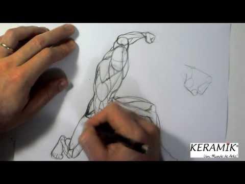 Como desenhar: Praticando Movimentação - Iron Man (Homem de Ferro)