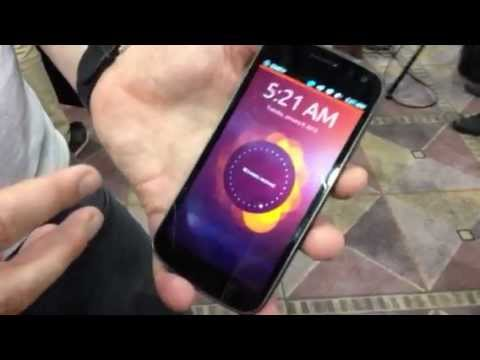 Ubuntu Phone Shows Facebook Integration at CES 2013 – VIDEO