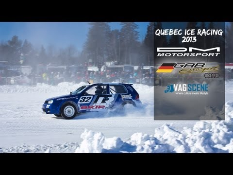 Ice Racing in Lavaltrie Quebec 2013 - Vagscene