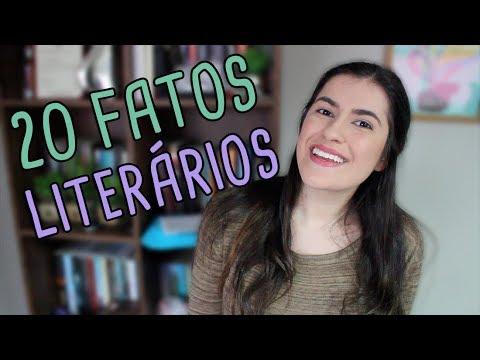 20 FATOS LITERÁRIOS SOBRE MIM | TAG