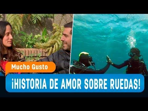 Historias de amor - La emocionante historia de amor sobre ruedas de María José y Javier Urzúa - Mucho Gusto 2019