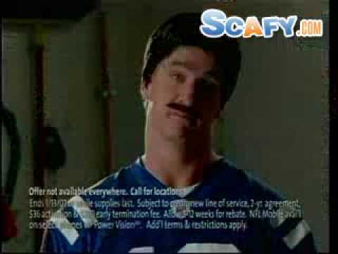 scafy - http://www.scafy.com ... Funny commercials Sprint - Peyton Manning Commercial.