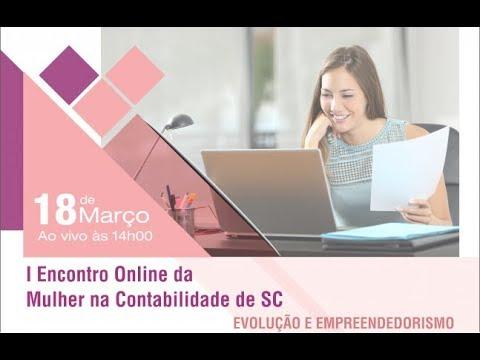 I Encontro Online da Mulher na Contabilidade de SC - Evolução e empreendedorismo
