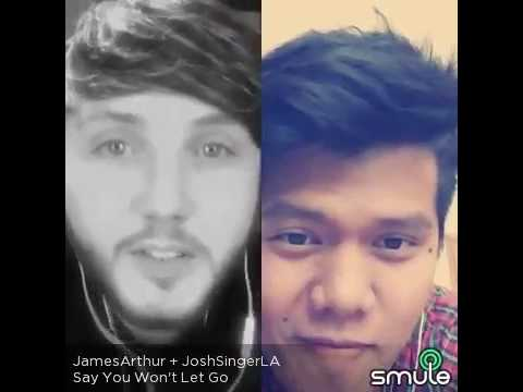 Say you won't let go - James Arthur Cover (@josh.singer.la)