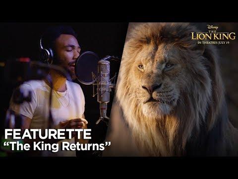 """The King Returns"" Featurette   The Lion King"